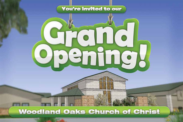 Grand Opening Postcard